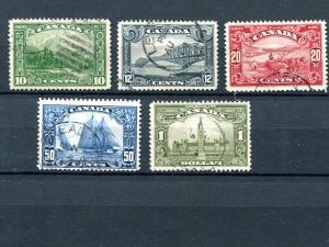 Canada #155-159 Used Vf