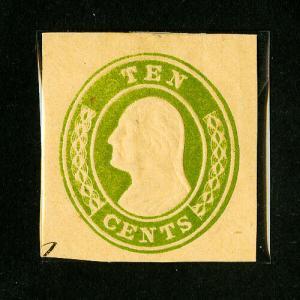 US Stamps # U18 XF Mint Scott Value $375.00