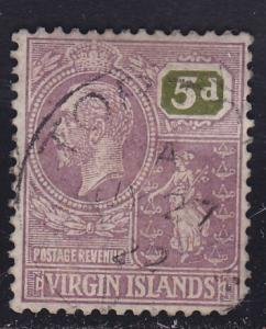 British Virgin Islands 62 Colony Seal 1922