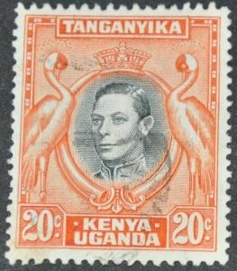 Kenya, Uganda & Tanganyika Scott #74 – USED