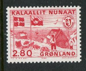 Greenland #164 Mint