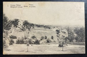 Mint Belgian Congo Stationery RPPC Postcard Cover Boma Valley