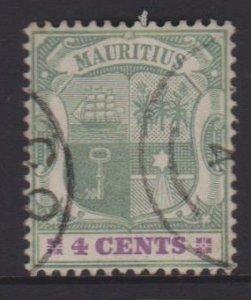 Mauritius Sc#99 Used