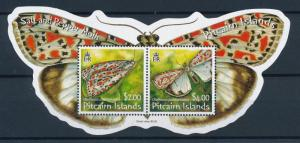 [95391] Pitcairn Islands 2007 Insects Butterflies Sheet MNH