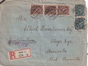 1923, Berlin, Germany to Sleepy Eye, MN, Registered, See Remark (41497)