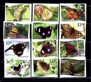 Tonga Niuafiou 275 86 MNH 2012 Butterflies