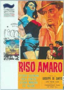67272 - ITALY  - Postal History -  MAXIMUM CARD  - CINEMA 1995  V. Gassmann