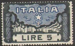 ITALY #164 HINGED INCOMPLETE HIGH VALUE TO SET