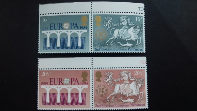 Great Britain 1984 EUROPA Stamps Mint