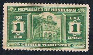 Honduras 328 MLH Masonic Temple 1935 (BP28316)