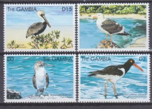 1999 Gambia 3336-3339 Birds 6,00 €