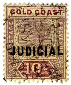 (I.B) Gold Coast Revenue : Judicial 10/-