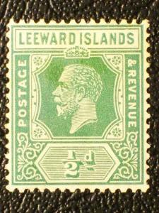 Leeward Islands #62 unused