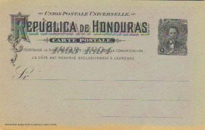 Honduras Higgins & Gage 18 Unused.