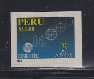 Peru 1065 Set MH Council On Science And Technology