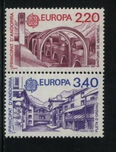 Europa by ANDORRA French MNH Sc 352-53  Value $ 11.75