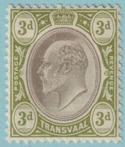 TRANSVAAL 256  MINT HINGED OG * NO FAULTS EXTRA FINE!