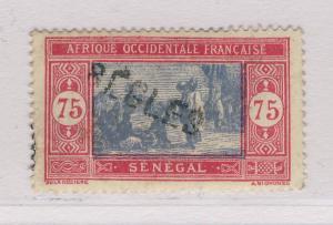 SÉNÉGAL - ca. 1926 - 75c Type Marché Sénégalais OBL. GRIFFE de BÈGLES (Gironde)