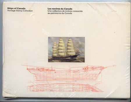 Canada Post - Ships of Canada Thematic Collection