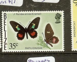 BELIZE   (B1901) BUTTERFLY SC355A    MNH