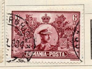 Romania 1931 Early Issue Fine Used 6L. 272234