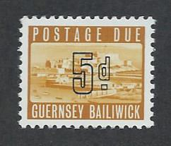 GUERNSEY SC# J5 VF MNH 1969