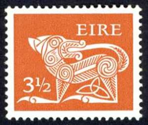 Ireland Sc# 347 MH 1974-1978 3 1/2p Definitive
