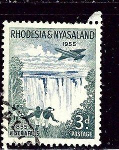 Rhodesia and Nyasaland 156 Used 1955 issue    (ap2954)