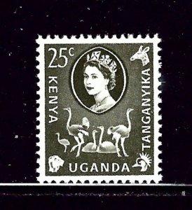 Kenya UT 124 MH 1960 issue