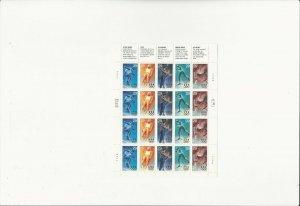 US Stamps Sheet/Postage Sct #2811a Winter Olympics MNH F-VF OG  FV $5.80