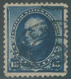 US Scott #227 Used, VF