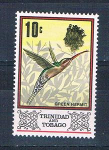 Trinidad and Tobago 149 MNH set Green Hummingbird 1969 (T0085)+