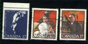 Can #859-61   -3    used VF 1980 PD