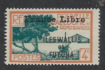 WALLIS AND FUTUNA ISLANDS SC# 97 FINE OG 1941-3