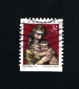 USA # 3244  2  used 1998 PD .08