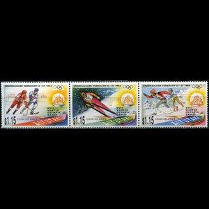AITUTAKI 1994 - Scott# 488 W.Olympics Set of 3 NH