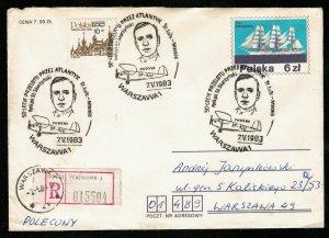 The envelope, Poland, 1983 (КТ-2)