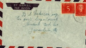 Bargains galore Netherlands Antilles cover to Jamestown, NY