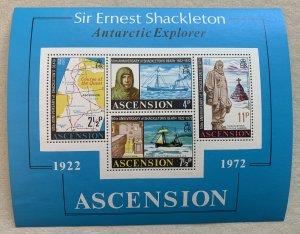 Ascension 1972 Shackelton MS, MNH. Scott 163a, CV $3.00