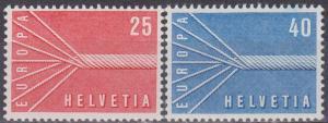 Switzerland #363-4 MNH F-VF CV $4.50  (ST1302)