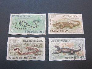 Laos 1967 Sc 156-9 UN (159FU) set MNH