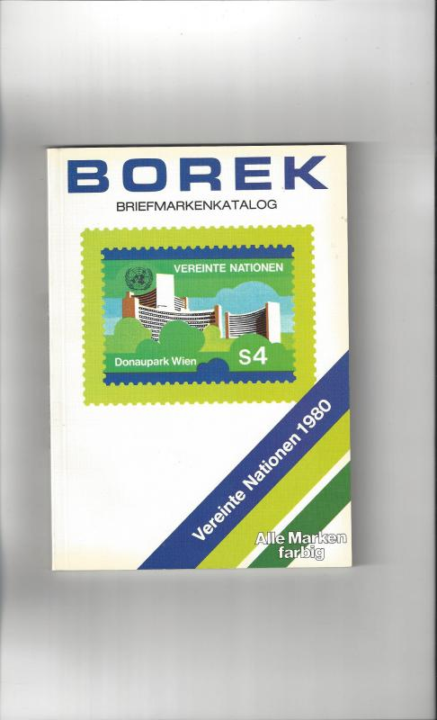 Borek Vienna Catalog 1980 United Nations