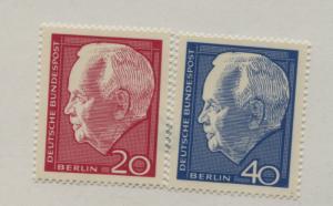 GERMANY BERLIN 9N211-12  MNH