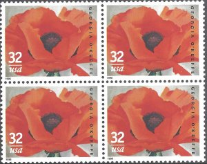 3069 Mint,OG,NH... Block of 4... SCV $3.40