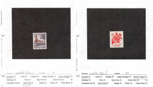 Lot of 30 Norfolk Island MNH Mint Never Hinged Stamps #145828 X R