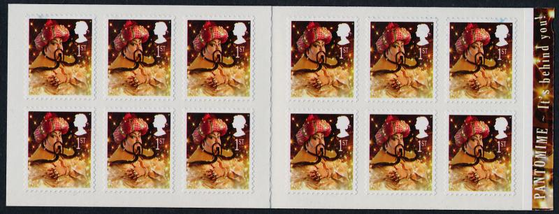 Great Britain 2609a Booklet MNH Christmas Pantomime