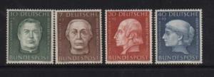 Germany #B338 - #B341 NH Mint