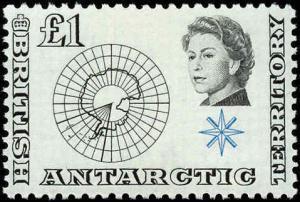 British Antarctic Territory #1-15, Complete Set(15), Never Hinged