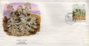 Ireland, First Day Cover, Flowers