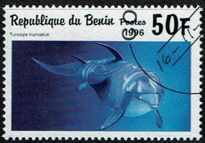 Benin Scott 937 (SW 931) Used/CTO (1996) Dolphin